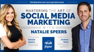 Natalie Speers discussing social media marketing