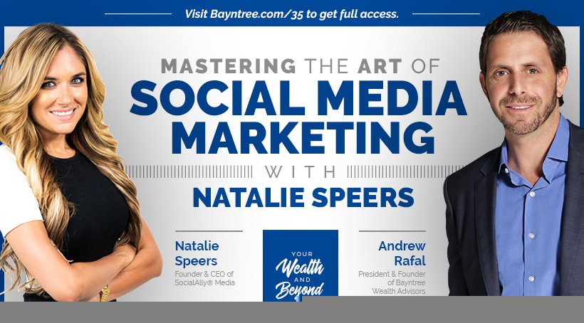 Natalie Speers discussing social media marketing
