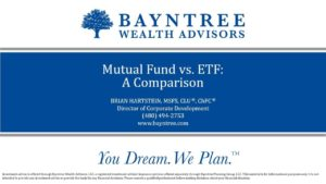 Mutual Fund vs ETF A Comparison