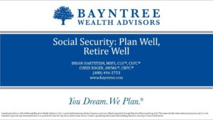 Social Security Plan Well Retire Well
