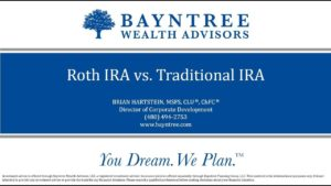 Quarterly 401k Webinar - Roth IRA vs Traditional IRA