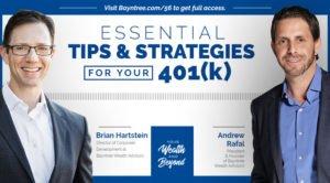 Brian Hartstein 401k retirement